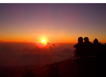 The Bali Times, Mount Agung