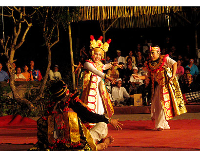 The Bali Times cover, Balinese dance
