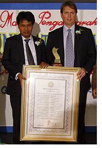 PT. Hanno Bali, Bali development award, Hanno Soth