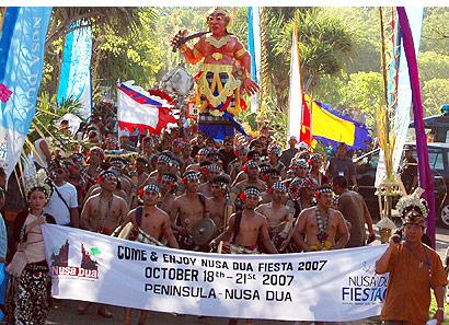 Nusa Dua Fiesta 2007, The Bali Times
