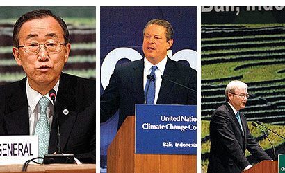 The Bali Times, UN climate talks