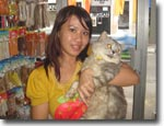 Owner of Miu Pet Shop